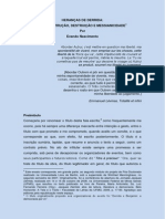Herancas de Derrida