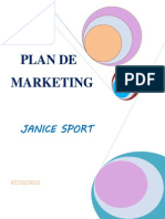 Plan de Marketing JANICE SPORT10.12.12