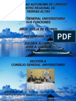Consejo General Universitario Z.a.F