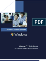 Microsoft - Windows 7 At-a-Glance Whitepaper