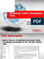 Drawing Table Templates POC