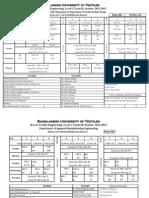 Level-2 Term-2, 2013 (Revised Routine)