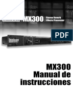 MX300Manual Spanish Original