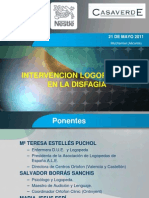 Intervencion Logopedica en La Disfagia