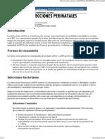 13. Infecciones perinatales