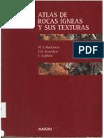 Atlas de Rocas Igneas y Sus Texturas (MacKenzie, C.H. Donalson, C. Guilford)