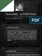 TEACHING E-PORTFOLIO MARVIN MONTOYA.pdf
