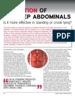 Activation of Deep Abdominals