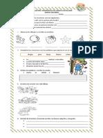Evaluación Diagnóstica Segundo