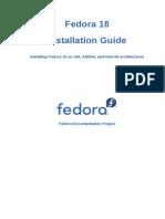 Fedora 18 Installation Guide en US