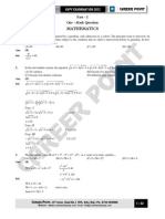 KVPY Paper Solution XII 04-11-12