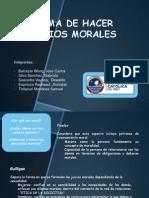 Forma de Hacer Juicios Morales