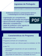Novos Programas de Português-Power point