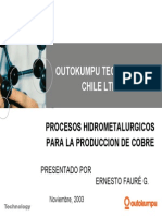 Procesos Hidrometalurgicos (Ernesto Faure)