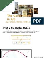 The Golden Ratio - Pahdee, Nethra, Riddhi and Ankita