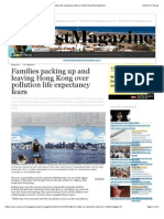 Families packing up and leaving Hong Kong over pollution life expectancy fears | South China Morning Post