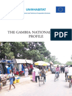 Gambia National Urban Profile