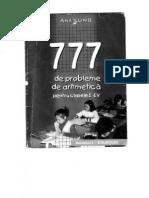 777 de Probleme de Aritmetica Cls 1-4, Vol I, Ana Lung (1)