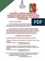 EUSKPreinscripcionTalleresCentroSocial2014-15
