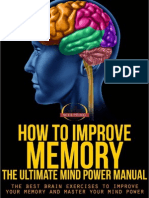 How to Improve Memory