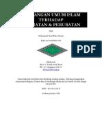 Pandangan Umum Islam Terhadap Kesihatan & Perubatan E-book