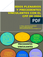 Precedentes Vinculantes - Dr. Victor Reyes Alvarado