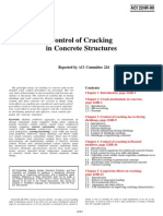 ACI 224R_90 Control of Cracking in Concrete