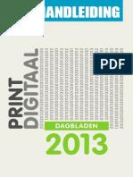 Hoi Handleiding Dagbladen 2013-1