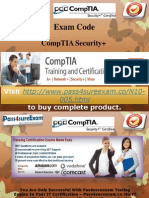 Pass4sure Security+ N10-005 Exam