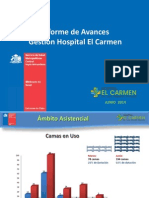 Ppt Avances Hospital Maipú. Vfinal