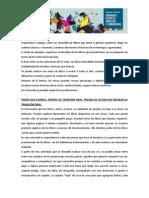 Actividades Propuestas Por Nación Primaria