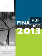 Finance Bill Highlights 2013