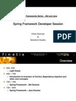Spring Framework Presentation