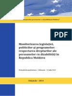 Monitorizarea legislatiei, politicilor si programelor