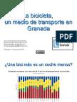 La bicicleta, un medio de transporte en Granada