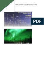 Dossier Geoingegneria,HAARP e Manipolazione Del Clima