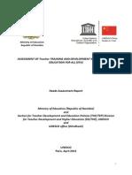 CFIT Needs Assesment Report Namibia 2013-Apr