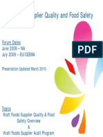 Supplier Quality Overview
