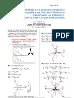 Analisis de La Secuencia Trifasica en Cargas Balanceadas-Word 2003