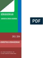 Buku Pedoman Kemahasiswaan Universitas Cordova Indonesia