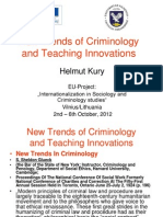 H.kury - 1 Dalis New Trends of Criminology and Teaching Innovations
