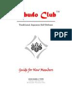 Genbukan Kobudo Club Guide for New Members