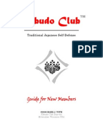 Genbukan Kobudo Club Guide for New Members