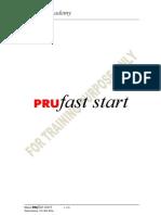 PRUfast Start Hand Book