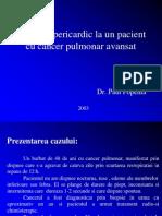 Revarsat Pericardic La Un Pacient