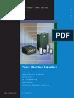 ESTA Power Electronic Capacitors DB