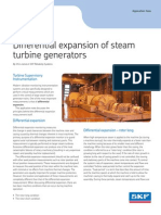 Differential Expansion of Steam Turbine Generators