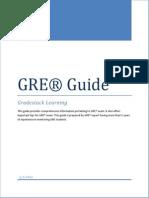 GRE Comprehensive Information Booklet