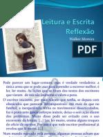 Leitura e Escrita - Reflexão