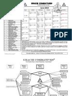 Combatives Calendar